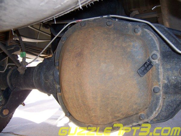 Welcome To Guzzle S Rear Differential Maintenance Web Page